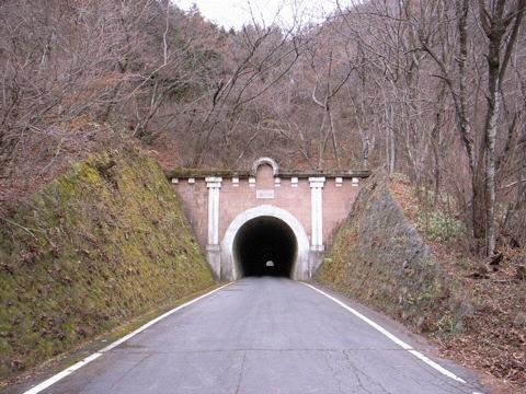 笹子峠の隧道