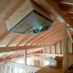 次世代ソーラーシステムそよ風の施工