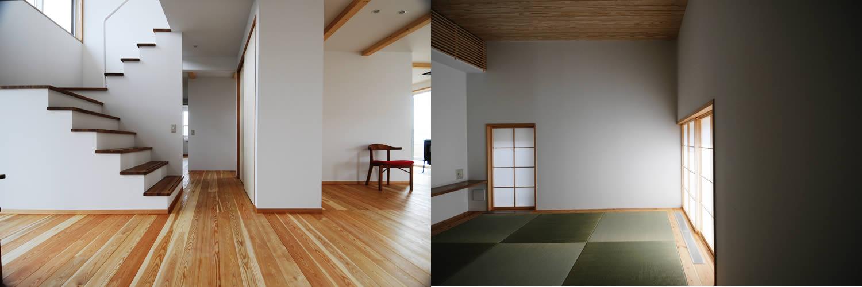 小澤建築工房 自然の素材